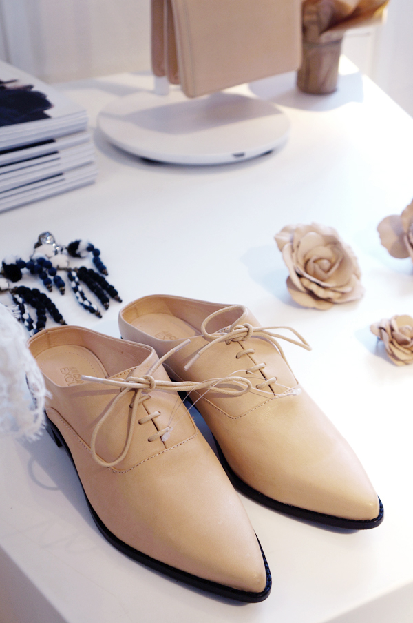 nude læder sko, tan leather shoes, hm conscious exclusive 2014 shoes, hm conscious exclusive 2014 sko