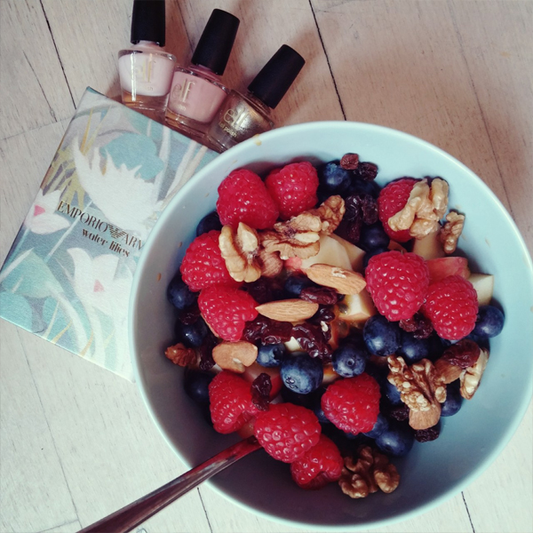 elf neglelak, nail polish elf cosmetics, fruit salad, frugtsalat