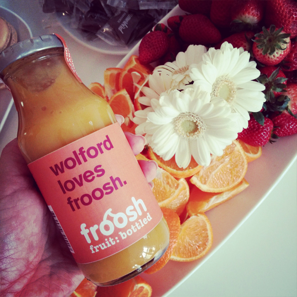 wolford smoothie, froosh smoothie
