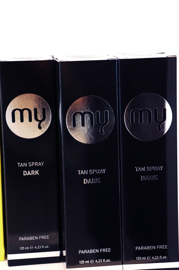 my tan produkter, my tan products