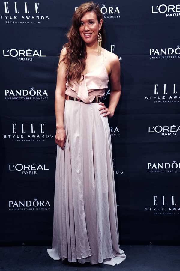 red carpet elle style awards 2014, sponsor wall elle