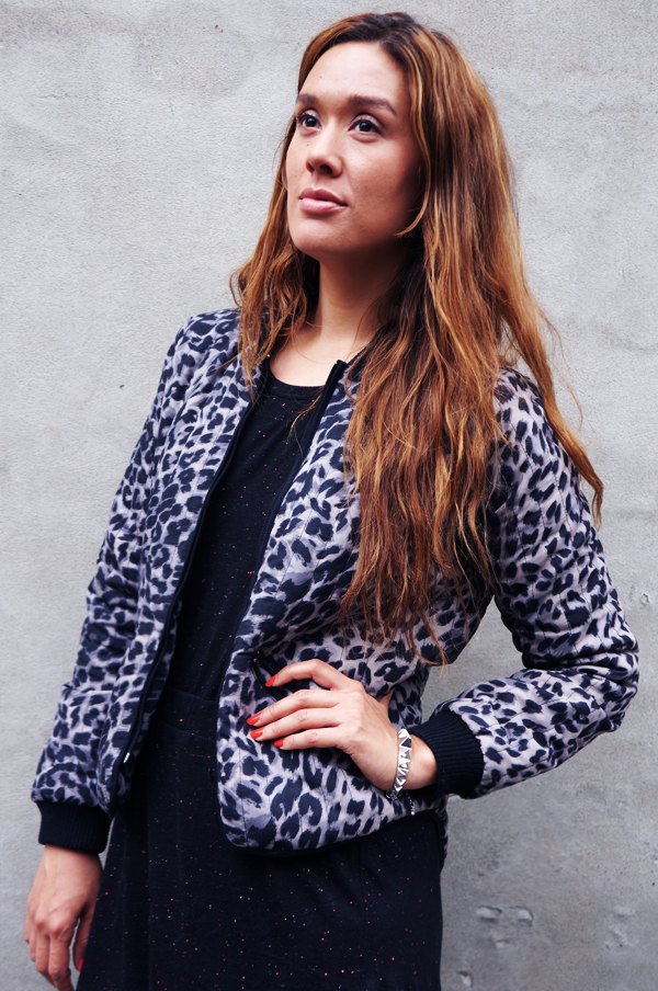 leopard jakke, vila jakke, jacket vila
