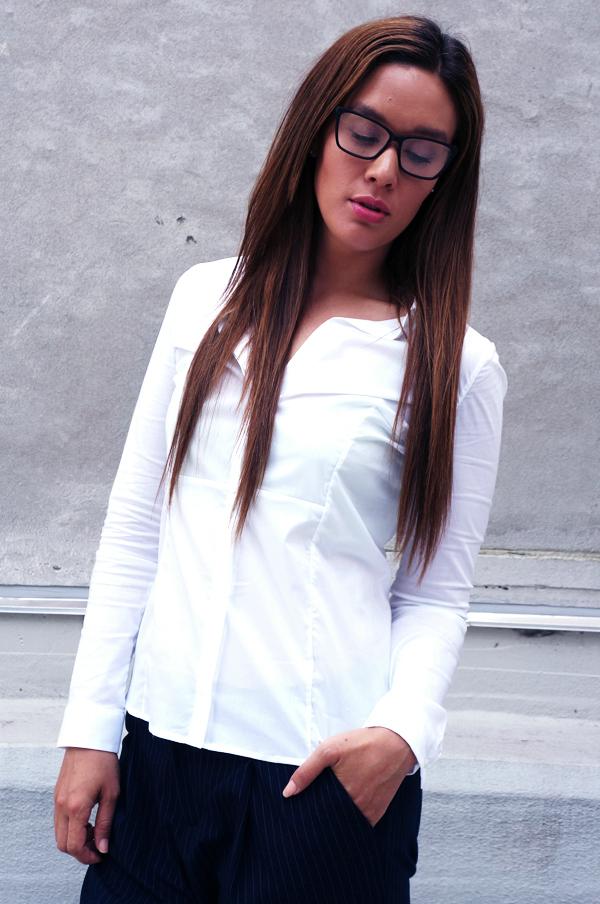 bruuns bazaar, bruuns bazaar skjorte, bruuns bazaar shirt, white shirt, hvid skjorte