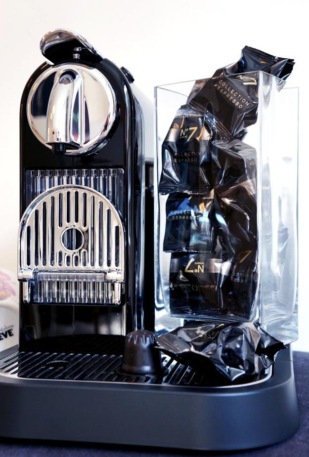 CitiZ&Milk Limousine Black, nespresso kaffemaskine,  CitiZ&Milk Limousine Black kaffemaskine