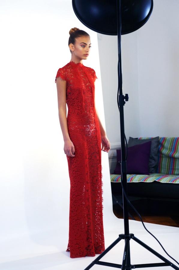 vanessa moe, model vanessa moe, elsa adams kjole, signe mørkeberg sjøstrøm fotograf, look book6