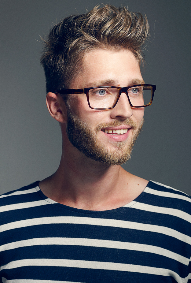 louis nielsen model, åretsbrille look 2014, jonas jensen