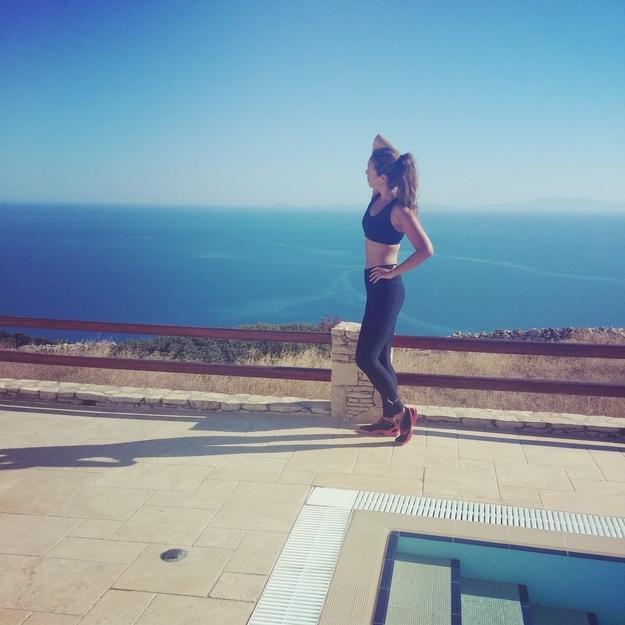 sund og slank på ferie, træning ferie, tips træning