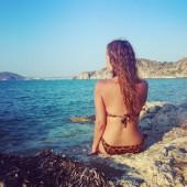 hm leopard bikini, plakias, greece holiday, kreta ferie, øhop grækenland