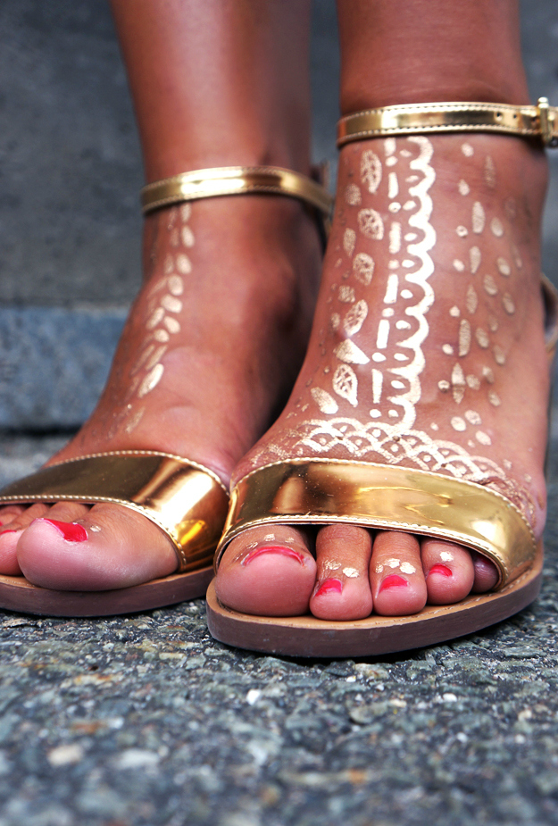 gold tattos, golden tattoos, gold tattoos, bronze sandals, zara sandals, bronze sandaler zara