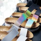 pieces sandaler, hvide sandaler, metalliske sandaler, pieces sko