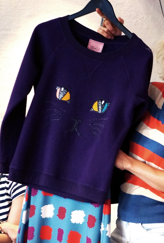 sweatshirt med kat, cat sweat shirt, katte print