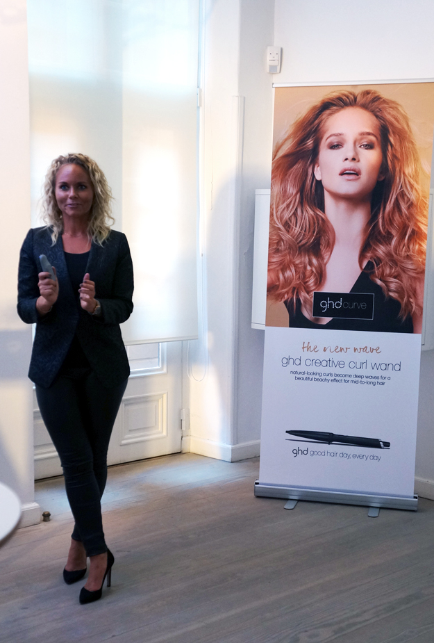 pernille ghd, lead hair stylist ghd