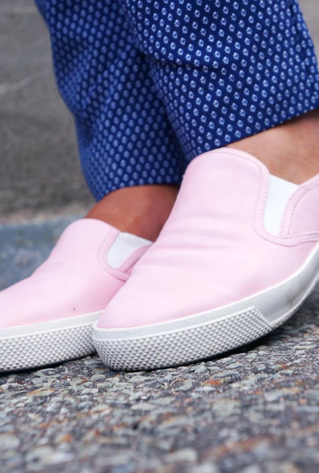 asos shoes, plimsoles, lyserøde sko