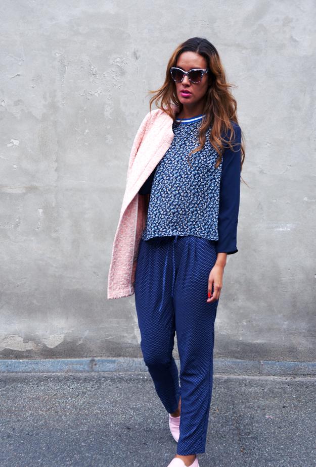 zara pink frakke, jakke zara, jacket zara