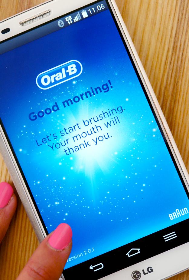 SmartSeries Pro 7000 oral b, oral b SmartSeries Pro 7000 tandbørste, oral b app