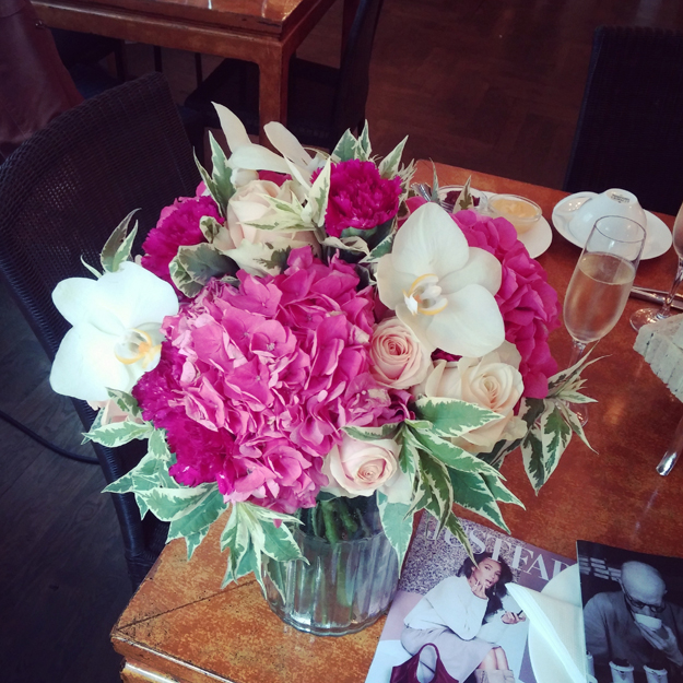 flowers, perchs københavn, Perchs Tearoom