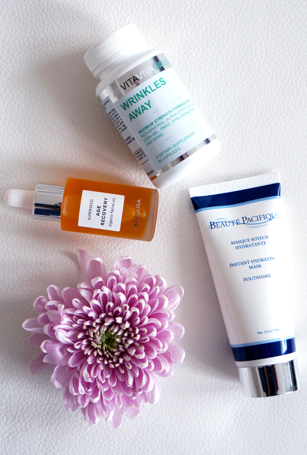 WRINKLES AWAY vitaviva, MASQUE SOYEUX HYDRATANT beaute pacifique, madara AGE RECOVERY ORGANIC FACIAL