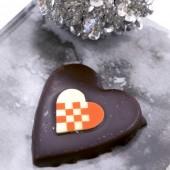 julehjerte, chokolade hjerte