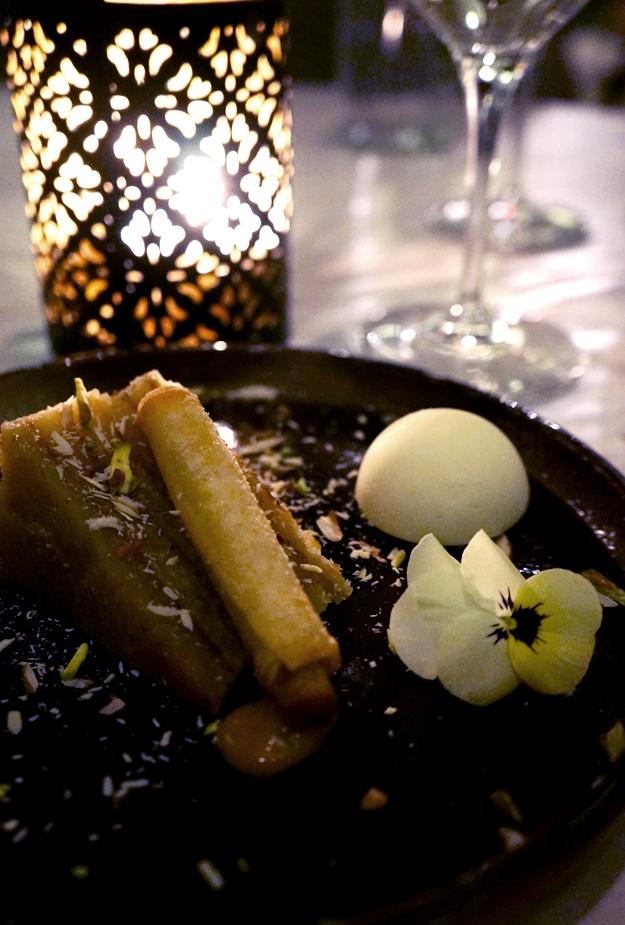 indisk dessert Verandah