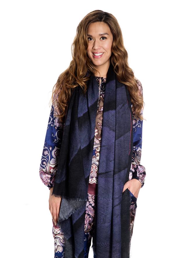emilie delance designer, fashion blogger designs scarf, dansk modeblogger designer tørklæde