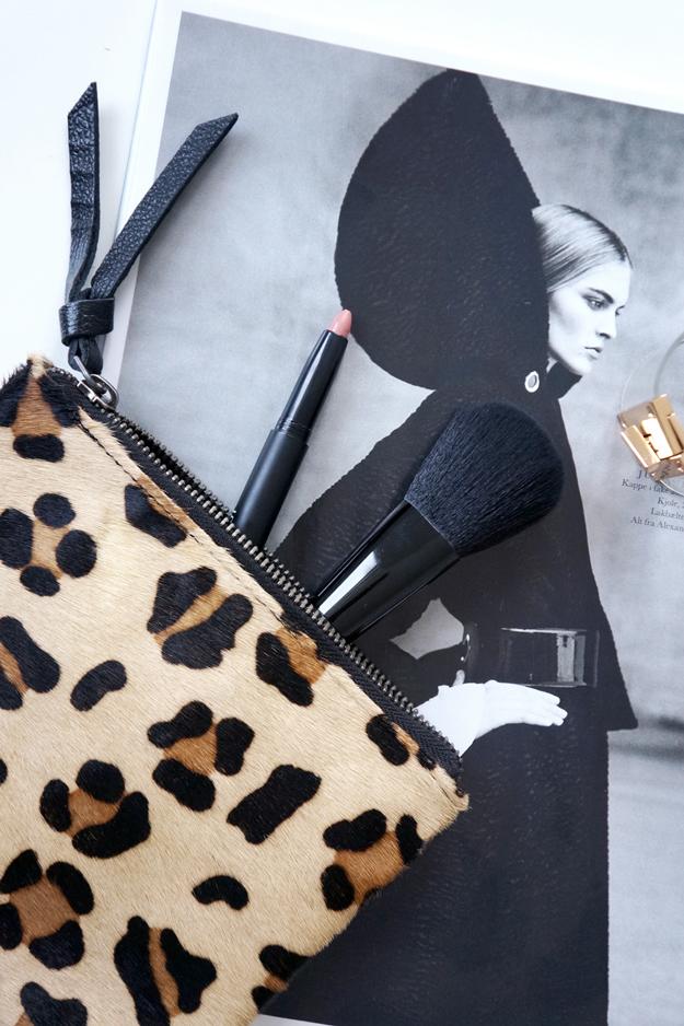 friis og co, fr//s, leopard taske, leopard pung, leopard makeup pung, friis taske, friis leopard clutch
