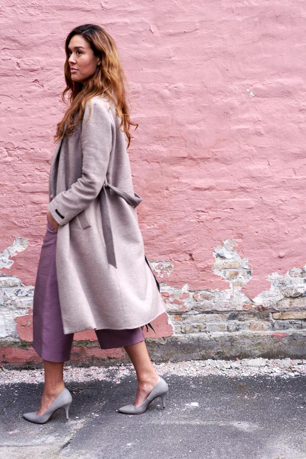 coat zara, beige nude pink outfit, modebloggere fra københavn, copenhagen based fashion blogger