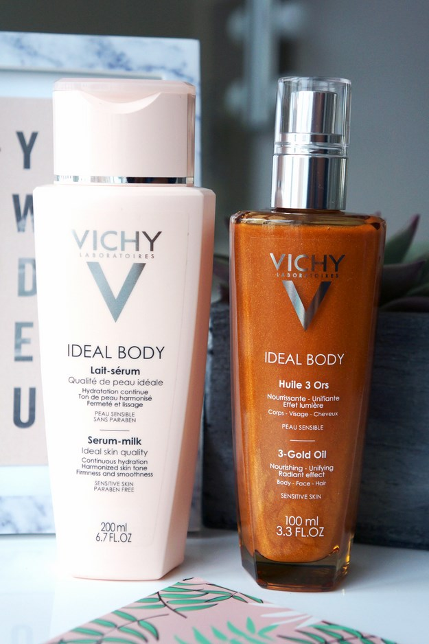 IDEAL BODY SERUM-BODYLOTION, vichy 3-GOLD-OIL, vichy oile, vichy