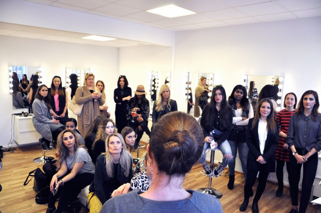 beauty academy cph event, makeup lokaler event