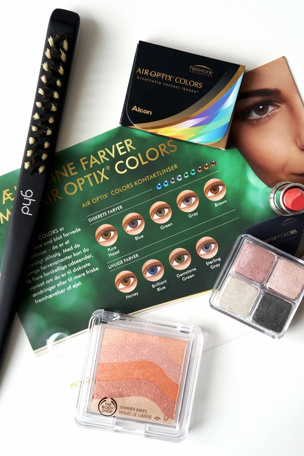 air optix colors beauty acadmey cph, beauty blog, ghd scandinavia, the body shop makeup