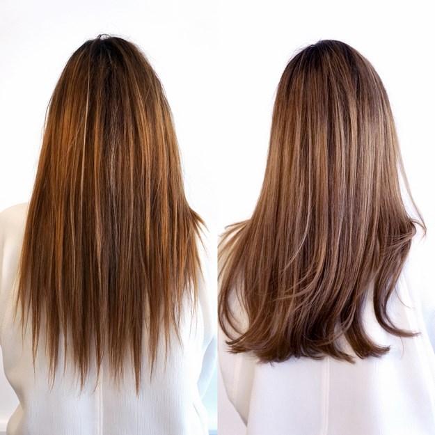 Balayage hår københavn. Balayage kort hår