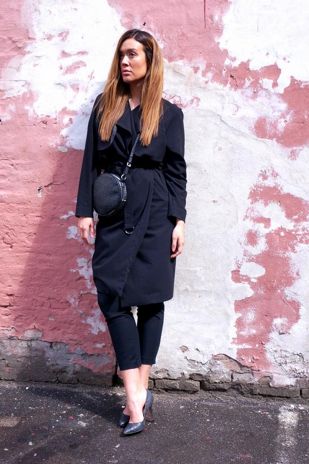 friis co taske, friis 247365 taske, trench coat, ootd, modeblog, modeblogger, weekday tøj