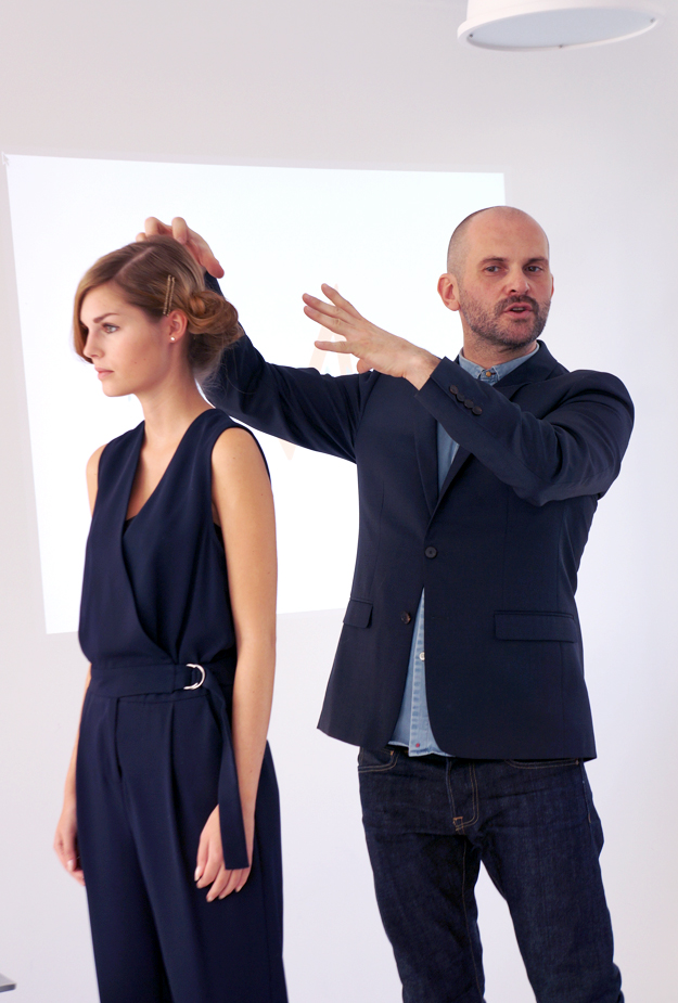 Moroccanoil lead hairstylist, Moroccanoil styling, Moroccanoil, Franck Perez