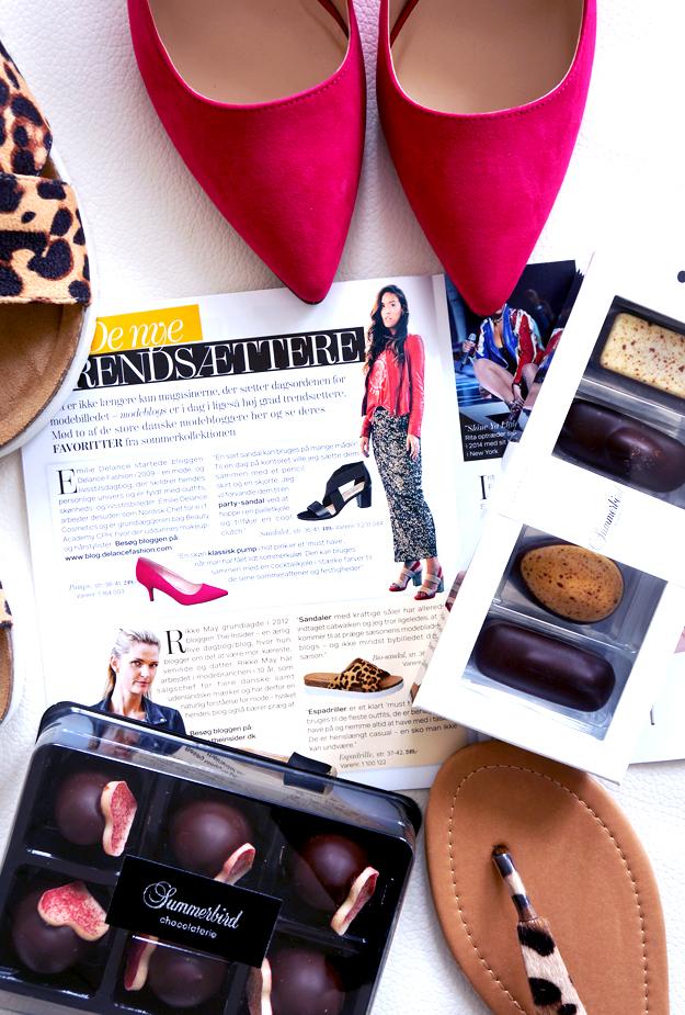 deichmann, deichmann ss15, pink high heels, diechmann trend magazine, summerbird flødeboller, leopard sandaler