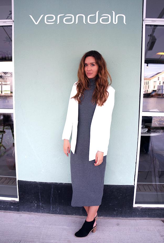 Verandah, an ounce Naya blazer, Naya blazer white an ounce, an ounce bloggerevent