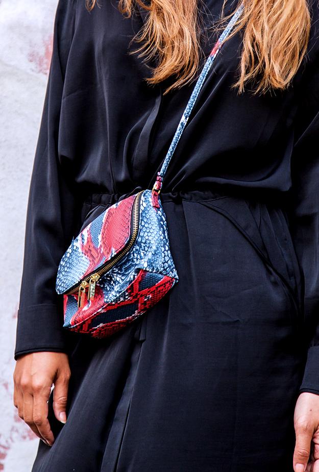 hm slangeprint taske,snake print bag H&M