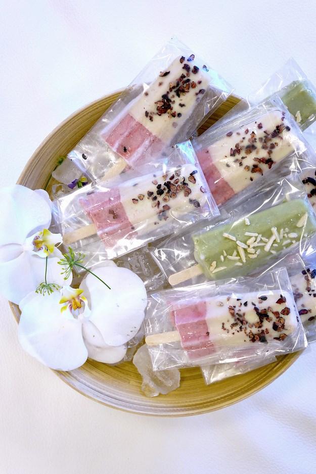 olufs is, olusis, håndlavet ispinde, dansk is, italiensk is, blomster is, is med blomster, ispinde med blomster