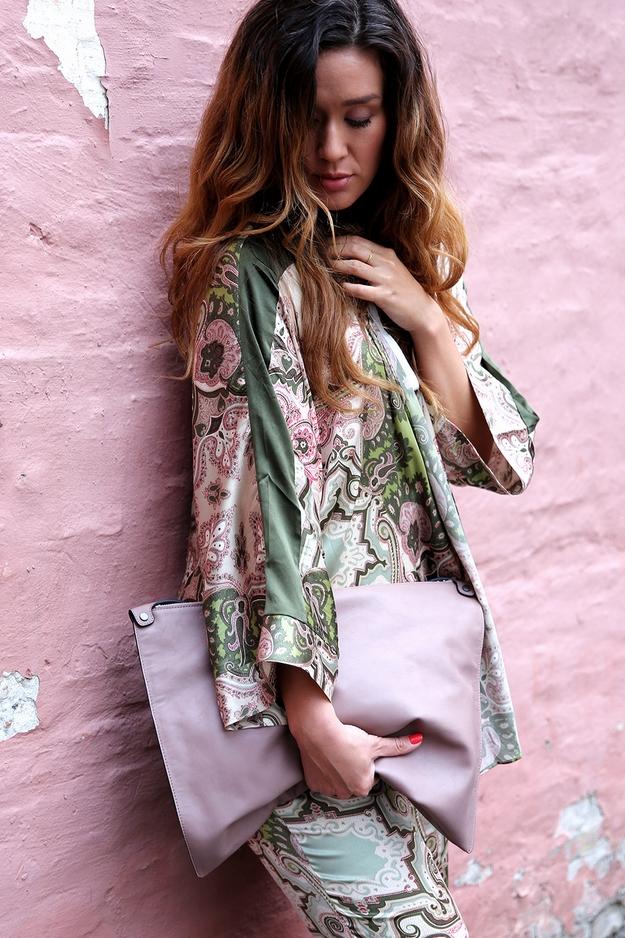 Dea Kudibal, kudibal kimono, silkekimono, ecco taske, ecco bag, ecco clutch