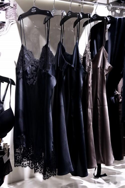 silkeunderrkjoler, silk underwear, silk slip